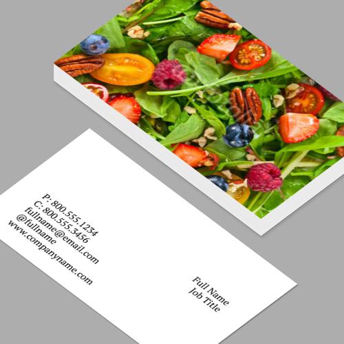 Business Cards Standard Horizontal Customizable Design Templates