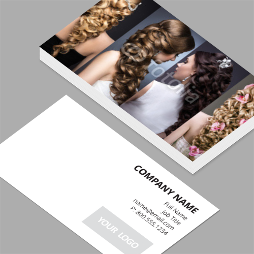 Business cards standard horizontal customizable design templates hair stylist business cards colourmoves