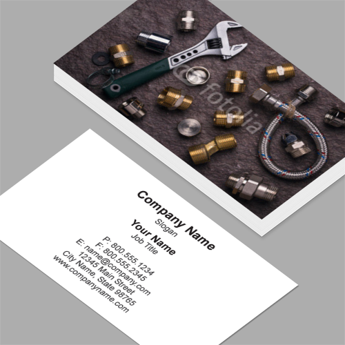 Business card magnets standard customizable design templates plumbing business cards colourmoves