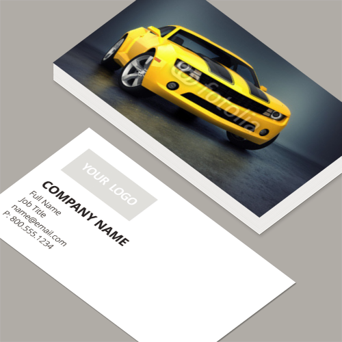 Business cards standard horizontal customizable design templates auto business cards reheart Images